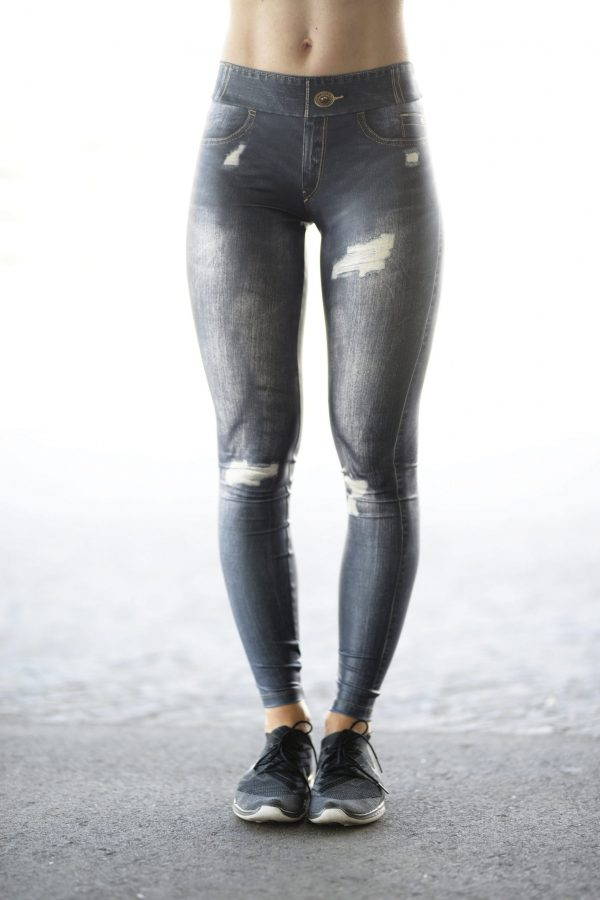 Front view Rolamoca Jeans legging