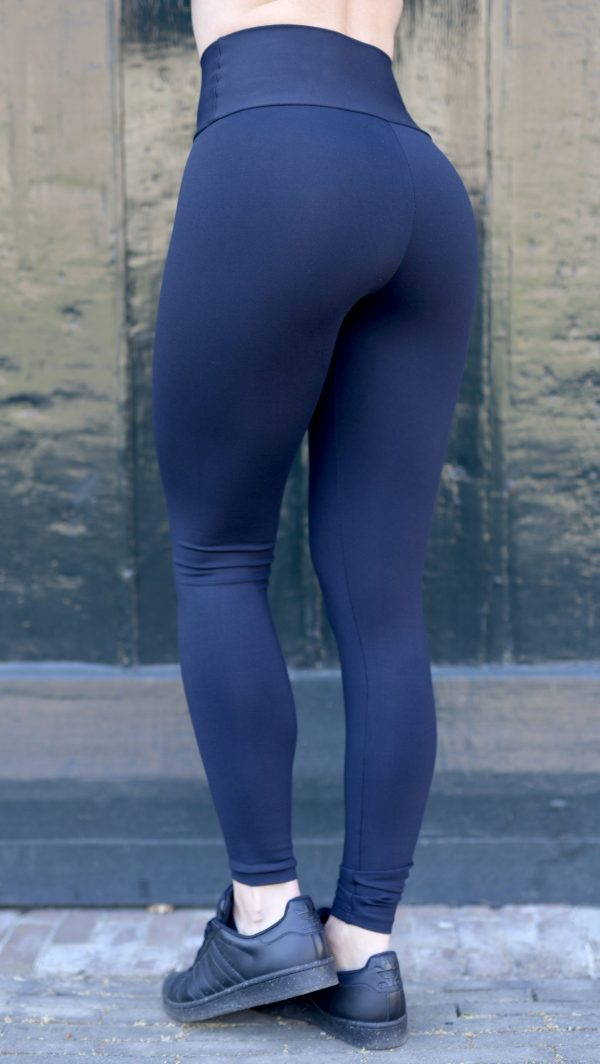 Lunar Eclipse legging with infrared technology side view