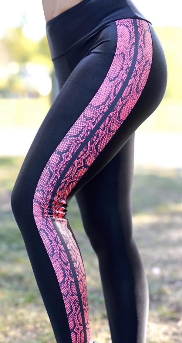Side view Rolamoca snake print