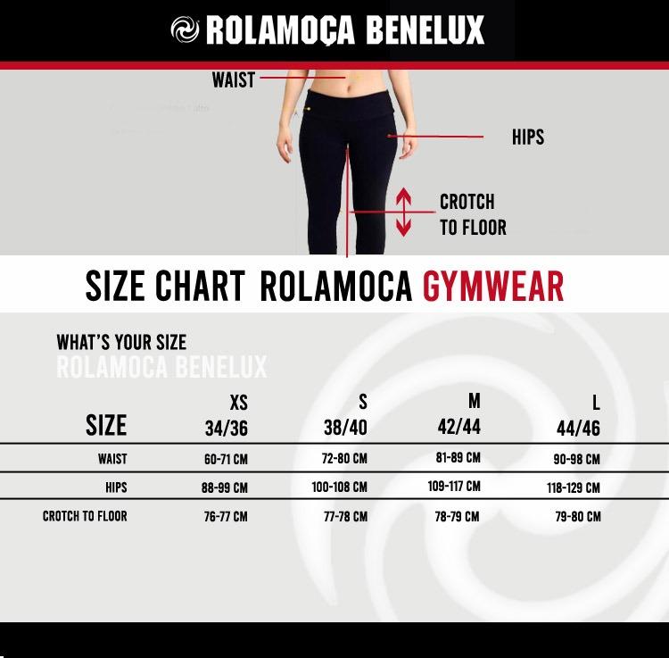 Rolamoca Size Chart